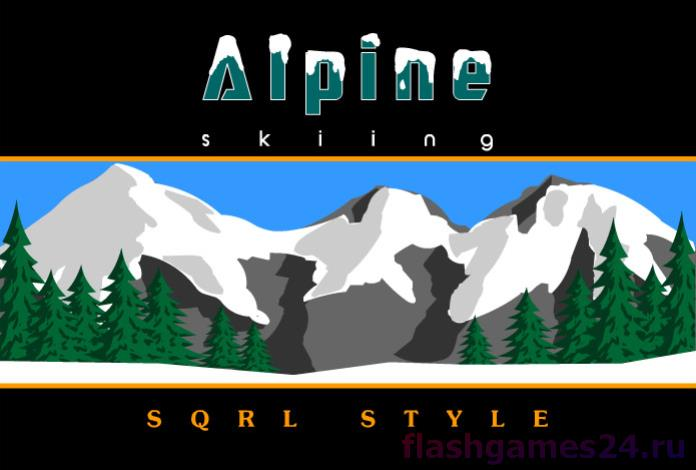 Alpine skying