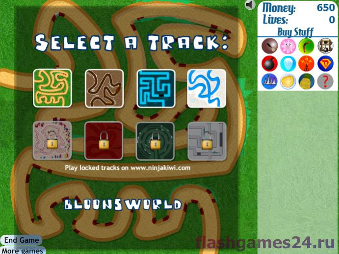 Скриншот 2 к игре Bloons tower defence 3