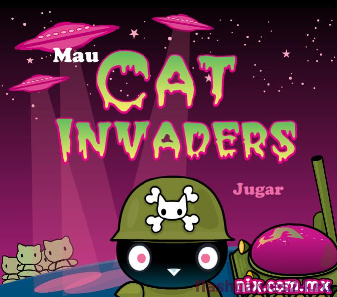 Cat invaders