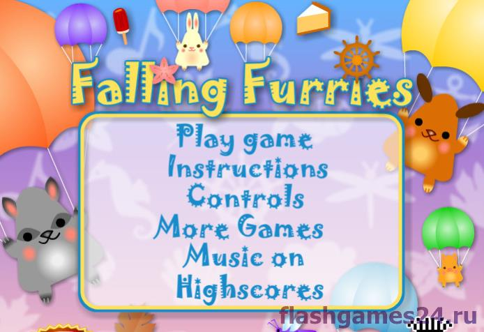 Falling furries