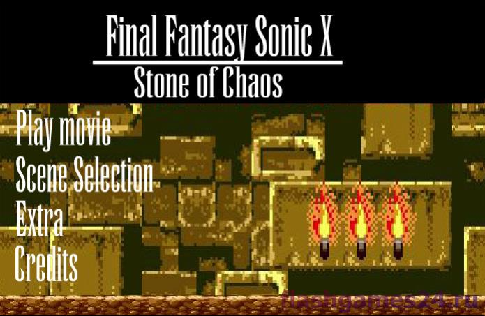 Sonic X Stone of chaos