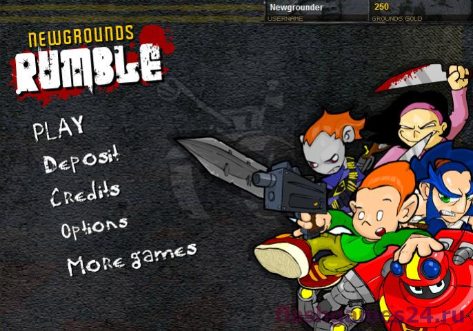 Newgrounds rumble