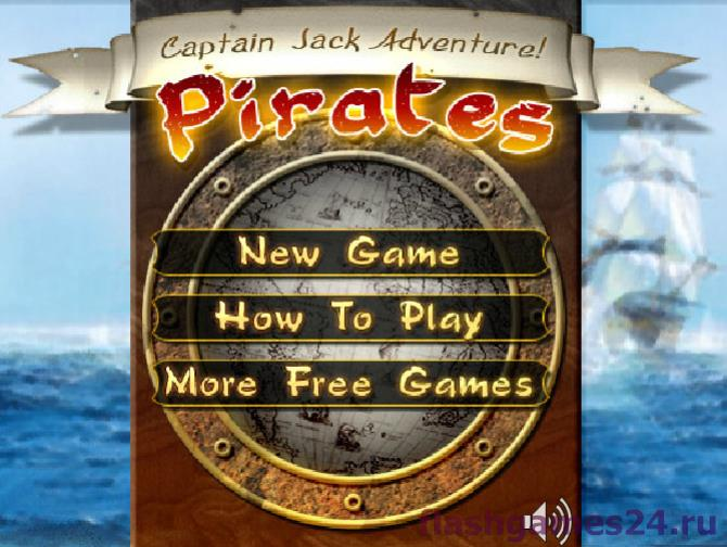 Pirates capitan Jack adventure