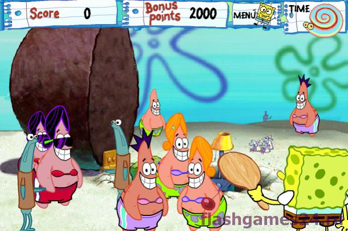 Скриншот 2 к игре Sponge bob trail on the snail