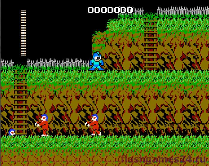 Mega man vs Ghost goblins