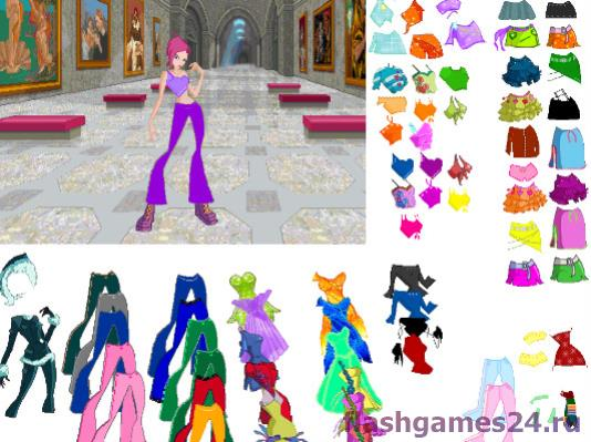 Winx Dressup Game 3